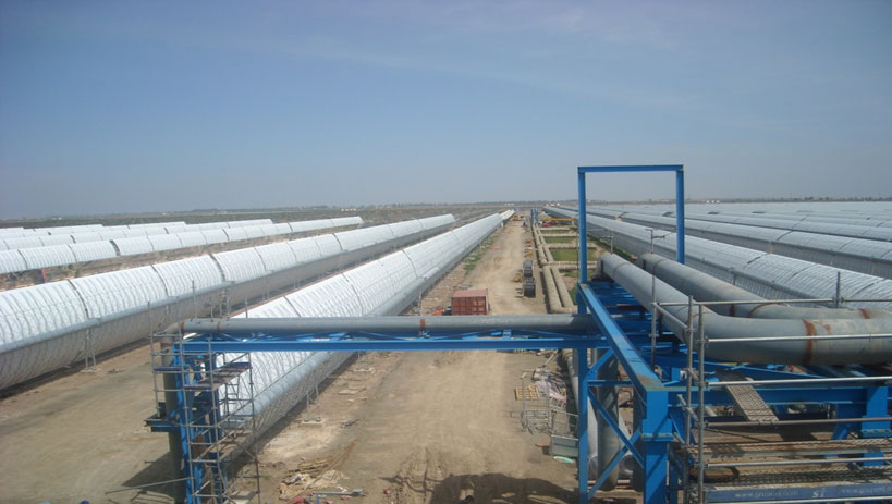 LebrijaI 50MW solar thermal power station, Lebrija (Spain)