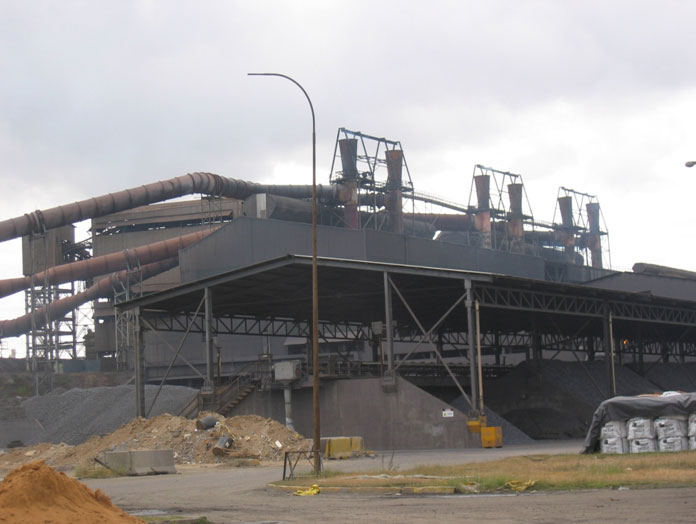 Automation of blast furnace fumes management, Puerto Ordaz (Venezuela, 2005-2006)