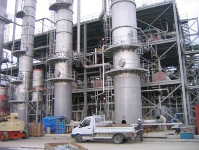 Planta de Biocombustibles, Lacq (FRANCIA, 2006)