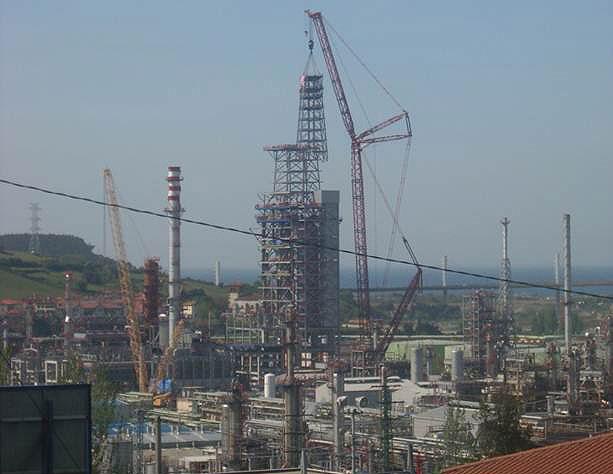 Refinería Petronor, Bizkaia (España, 2008)